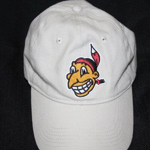 "Old School ""Chief Wahoo""  Cleveland Indians Hat"